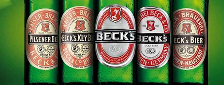 Becks bier trinken